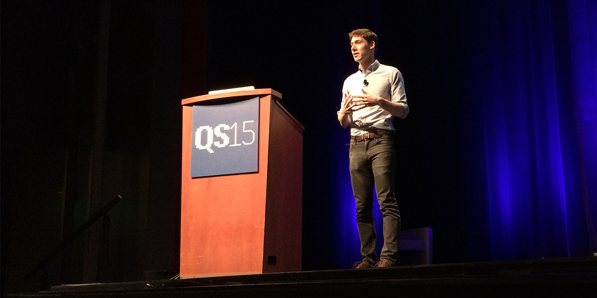 Mark Wilson på QS15 (foto: Magnus Nilsson)