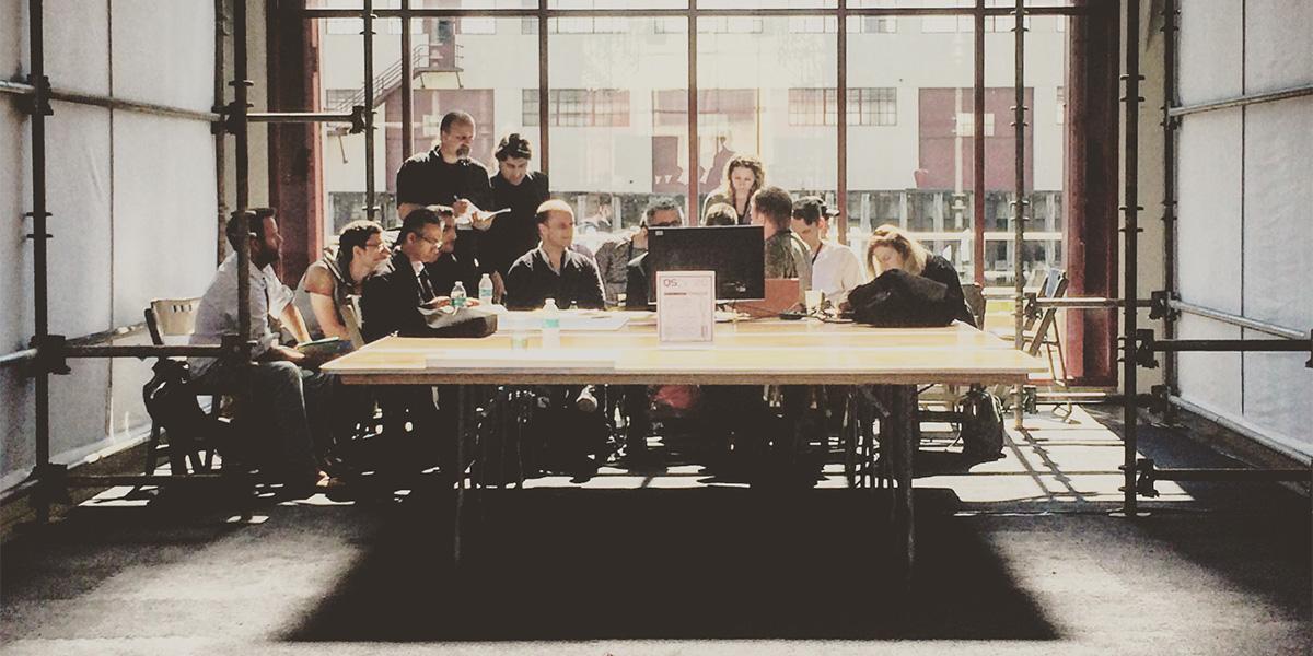 Diskussion under QS15, konferensen om Quantified Self i San Francisco 2015 (foto: Magnus Nilsson)